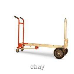 1,000 lbs. Capacity 4-in-1 Hand Truck