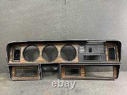 1981-1993 Dodge Ramcharger D150 Instrument Cluster Dash Bezel Trim Panel
