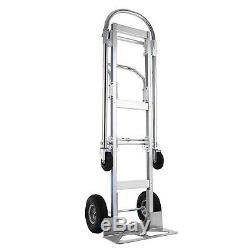 2 In 1 Hand Truck Stair Climber Hand Truck Aluminum Cart Dolly 880LBS