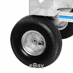 2 in 1 Aluminum Hand Truck 770LBS Convertible Folding Dolly Platform Cart