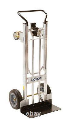 2 in 1 Lightweight Aluminum Convertible Upright Hand Truck 1000 lbs Capacity