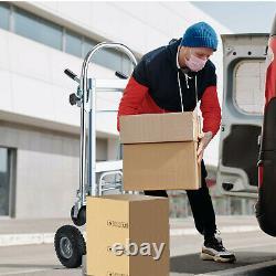 3 in 1 Aluminum Folding Sack Truck Hand Trolley Cart Car Heavy Duty Foldable