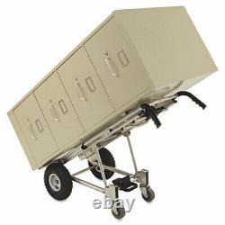 3-in-1 Convertible Hand Truck, 800-1000lb Cap, 21.06 X 21.85 X 48.03, Aluminum