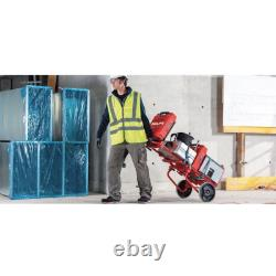 330 lbs. Capacity Folding Hand Truck/Dolly with Straps and 3-Shelves