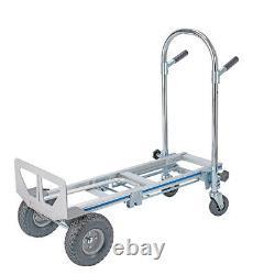 3In1 Aluminum Hand Truck Convertible Folding Dolly Platform Cart Capacity L9