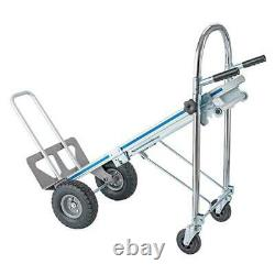3In1 Aluminum Hand Truck Dolly Folding Multifunction Home Commercial Hand Truck