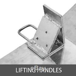 500lb Aluminum Hand Truck Dock Plate 24 x 30 Dockplate Curb Ramp