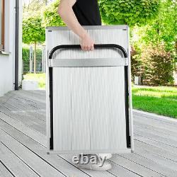 770 lbs Folding Hand Carrying Truck Heavy Duty Aluminum Truck Moving Platform