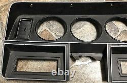 81 93 DODGE Ram D150 D250 D350 INSTRUMENT CLUSTER DASH BEZEL TRIM PANEL