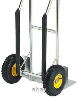 Aluminium Hand Sack Truck 200kg Capacity Cargo Carrier Transport Dolly Cart
