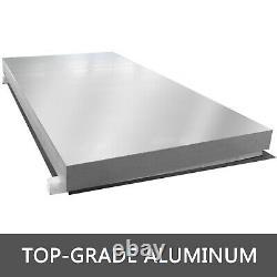 Aluminum Hand Truck Dock Plate 30 x 36 Large Capacity Pallet Jack Portable