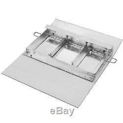 Aluminum Hand Truck Dock Plate 30 x 36 Light-weight Pallet Jack Portable