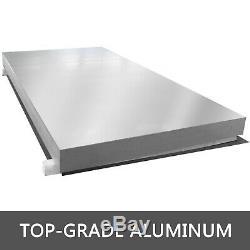 Aluminum Hand Truck Dock Plate 3000lb 30 x 36 Stable Durable Light-weight