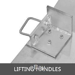 Aluminum Hand Truck Dock Plate 4700lb 24 x 36 Dockplate Curb Ramp