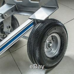 Cart Folding Dolly Push Truck Hand Collapsible Trolley Luggage Aluminium Best