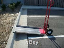 CodyCo Aluminum Hand Loading Truck Dollie Dolly Walk Curb Ramp 20 X 36