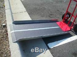 CodyCo Aluminum Loading Hand Truck Dollie Dolly Curb Walk Ramp 20 w X 28 l