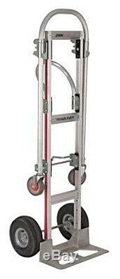Convertible Hand Truck 1000 Lbs Capacity Dolly Push Cart Aluminum by Magliner