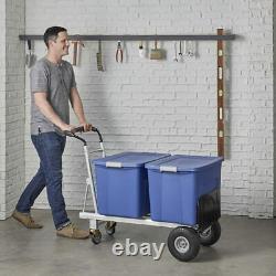 Cosco 3 in 1 Aluminium 450kg Capacity Hand Truck Flat-Free Wheels Heavy Duty