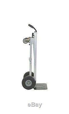 Cosco 3-in-1 Aluminum Hand Truck Foldable Dolly Cart 1000 lb Capacity Ergonomic