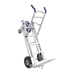 Cosco 3-in-1 Assist Series Aluminum Hand Truck with flat free wheels