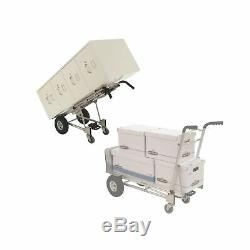 Cosco 3-in-1 XL Aluminum Hand Truck/Assisted Hand Truck/Cart withflat free whee