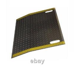 Dock Plate w Slots for Handles 36 Wide x 36 Long (4300# Cap) (Hand Truck Wide)