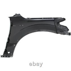 Fender Front Left Hand Side for F150 Truck Aluminum Driver LH F-150 FO1240300