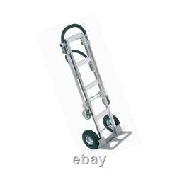 Global Industrial Best Value Senior Aluminum 2-in-1 Convertible Hand Truck