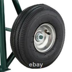 HAND TRUCK DOLLY CART TROLLEY Aluminum Wheels Heavy Duty Carrier Luggage Loading