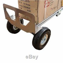 HTA-7B 2 in 1 Senior Convertible Aluminum Hand Truck, Assembled without Wheels