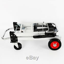 Hand Truck Dolly Convertible Aluminum Heavy Duty Folding Utility Cart 200kg