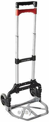 Heavy Duty Cart Folding Personal Hand sack Aluminum Truck 150 lb Capacity