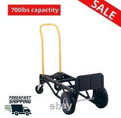 Heavy duty 700lb capacity aluminum Nylon Dolly and Cart hand truck luggage cart