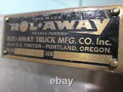 Lot Of 2 Rolaway Truck Mfg Hd Commercial Aluminum Stock Picker Hand Trucks