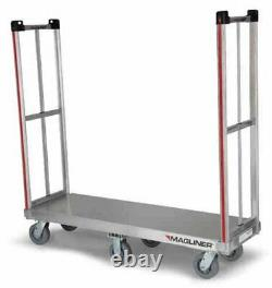 Magline BDHK162 Aluminum Rapid Delivery Hand Truck, Removable Handle, Thermoplas