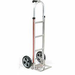 Magliner Aluminum Hand Truck with Pin Handle, Balloon Wheels