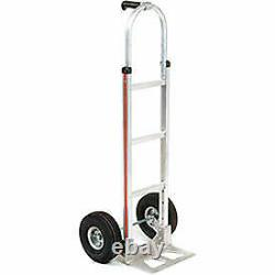 Magliner Aluminum Hand Truck with Pin Handle, Pneumatic Wheels