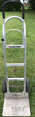 Magliner HMK112K14 Aluminum Hand Truck, 16 x 12 Extruded Aluminum Nose Plate