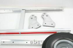 Magliner HMK15AUAC Aluminum Hand Truck Vertical Loop Handle 18 x 7 1/2 Aluminum