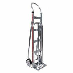 Magliner Hsa811aa1s-5 Snack Hand Truck, 500 Lb, Noseplate 14 W