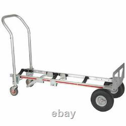 Magliner LNK111UA4 Gemini Bulk Container Edition Hand Truck, Curved Frame