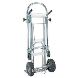 NEW 3 In 1 Aluminum Hand Truck Dolly Climber Stair Cart Folding Multifunction