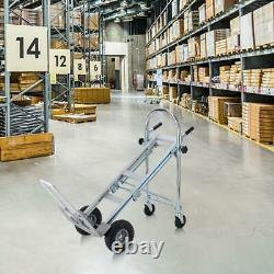 New 3In1 Folding Hand Truck Stair Climber Hand Truck Aluminum Cart Dolly 770LBS