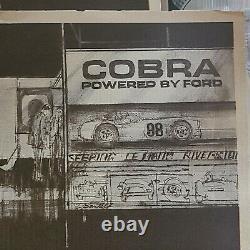 Original 1964 Carroll Shelby 289 AC Cobra Brochure From Hi Perfomance Motors