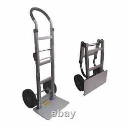 PROSERIES HT6071 Collapsible Aluminum Hand Truck, 10 Tire