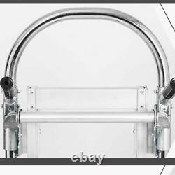 Portable 3 in1 Aluminum Folding Hand Truck Trolley Heavy Duty Dolly Cart 350kg