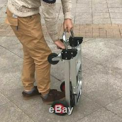 Portable Cart Folding Dolly Push Truck Hand Collapsible Trolley Aluminum Alloy