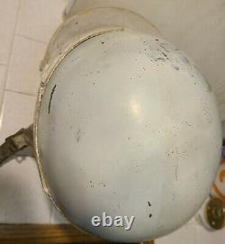 Rare 1940's Anderson Race Crash Helmet North Hollywood Bonneville Gilmore Muroc