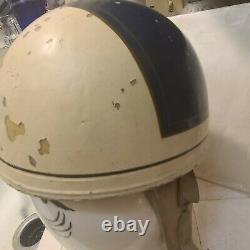Rare 1940's Race Crash Helmet Bonneville Gilmore Muroc Hot Rod Racing El Mirage